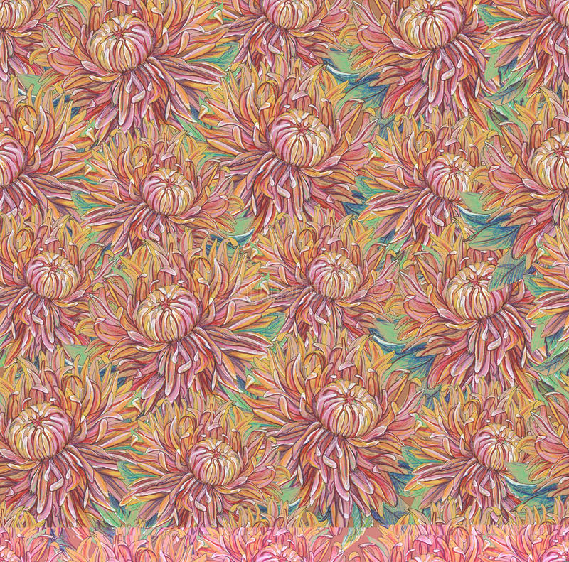 Download Vintage Drawing Of Flowers Royalty Free Stock Photos - Image: 33637568