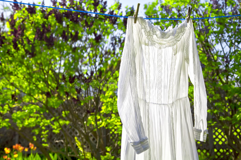Download Vintage Dress stock image. Image of clothing, clean, routine - 28740579