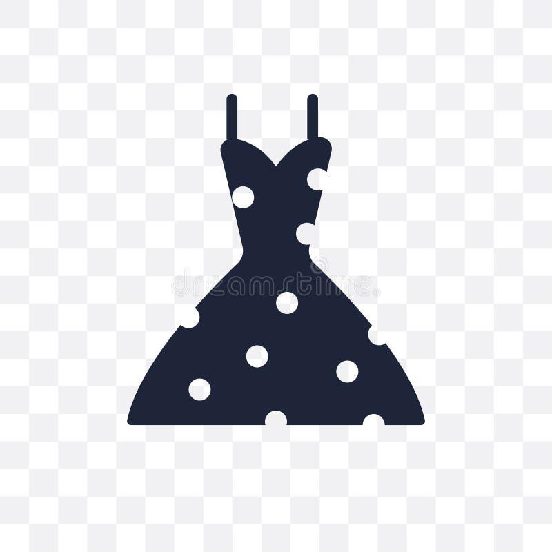vintage dress transparent icon. vintage dress symbol design from stock illustration