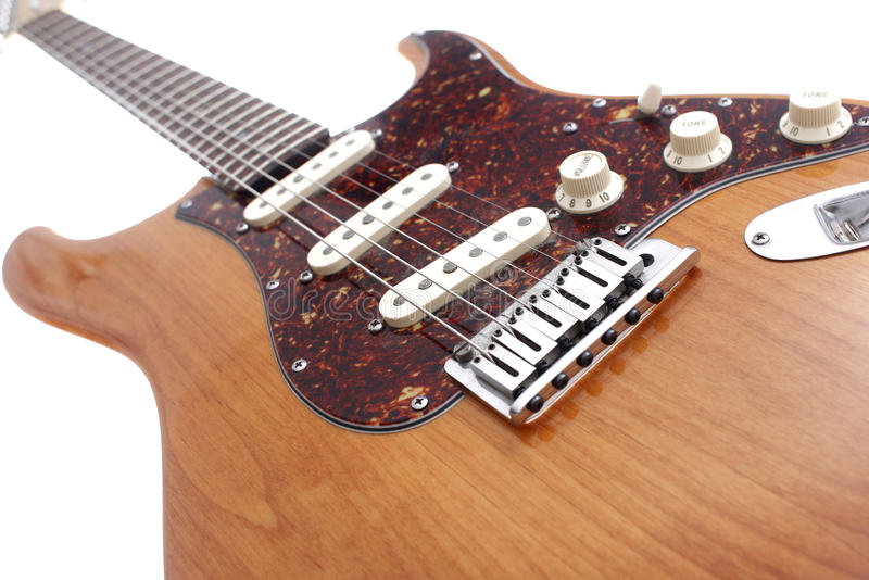 Download Vintage electric guitar stock image. Image of indoor - 13150515
