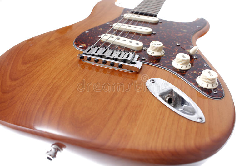 Vintage electric guitar royalty free stock images