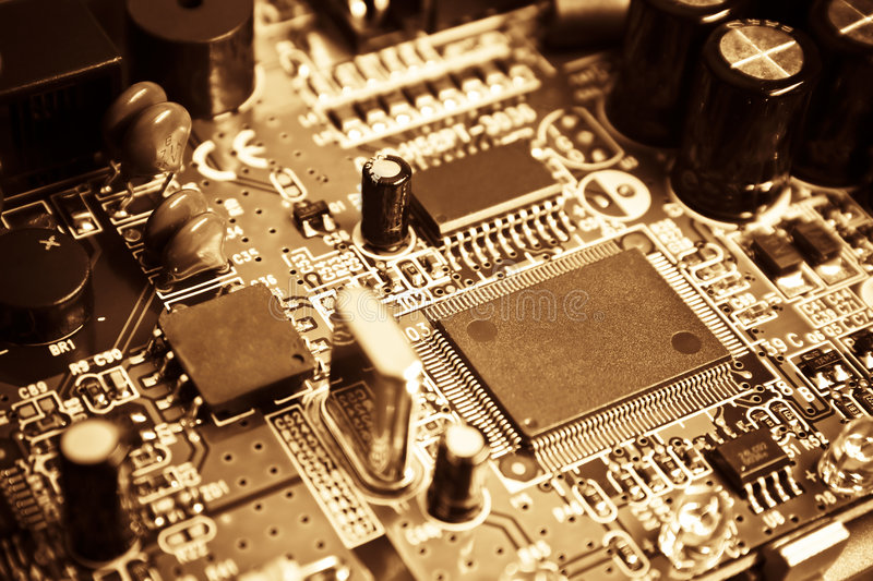 Download Vintage electronics stock image. Image of part, components - 4130117