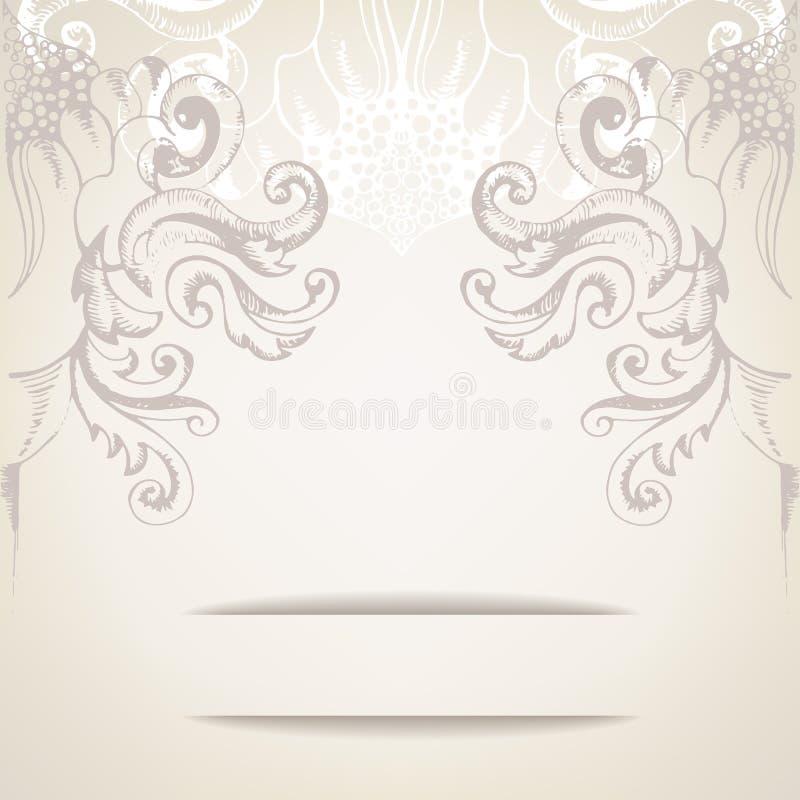 Vintage Elegant Background For Invitations Stock Vector