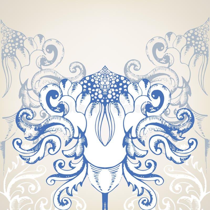 Vintage elegant background for invitations. This is file of EPS10 format vector illustration