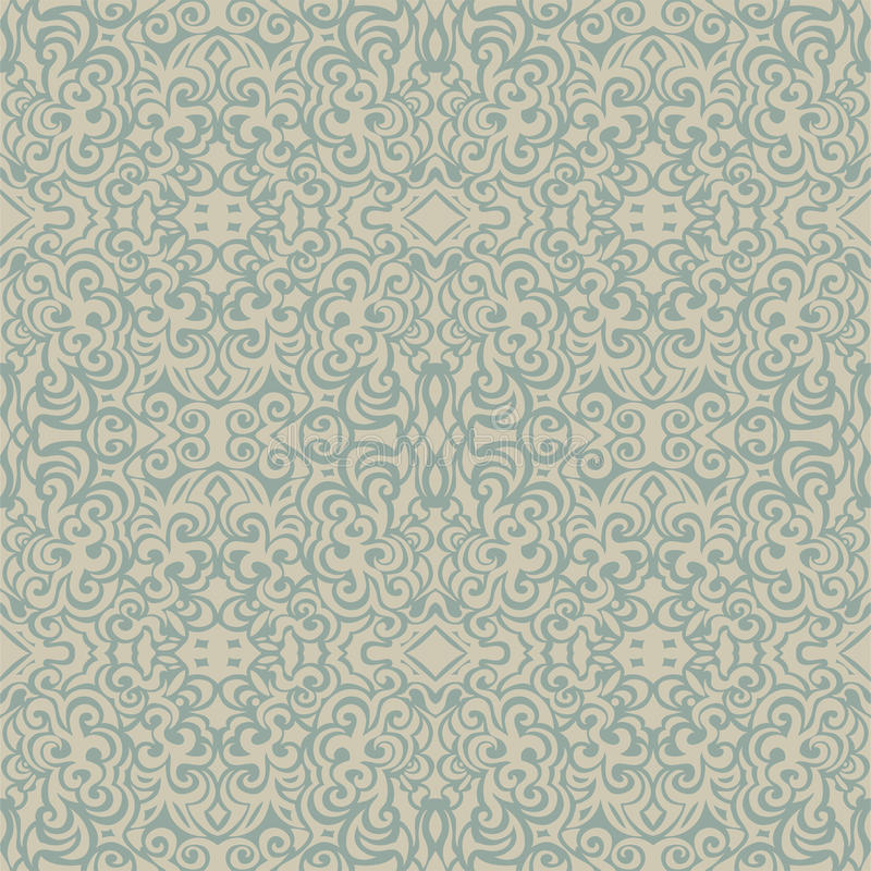 Vintage elegant seamless pattern vector illustration