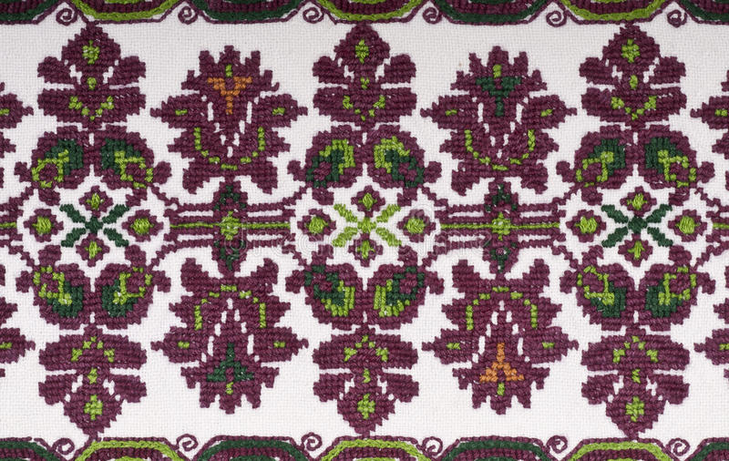 Download Vintage Embroidery Textile Design Stock Photo - Image: 24082938