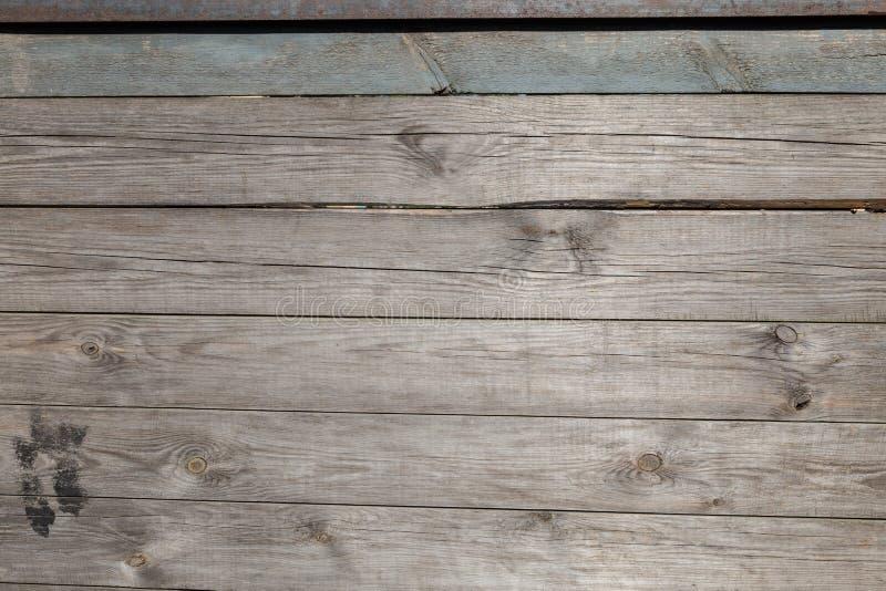 Vintage en bois de planche de mur de bois de construction image stock