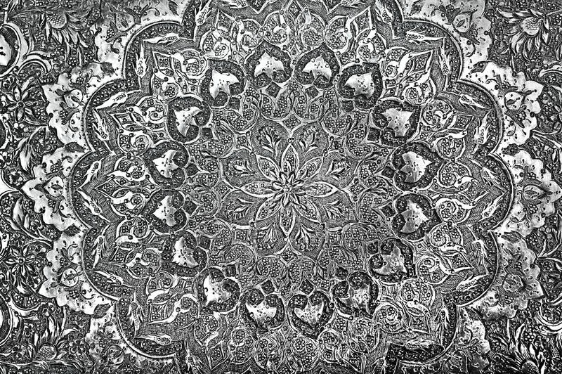 Download Vintage Engraved Metal stock photo. Image of engrave - 26812678