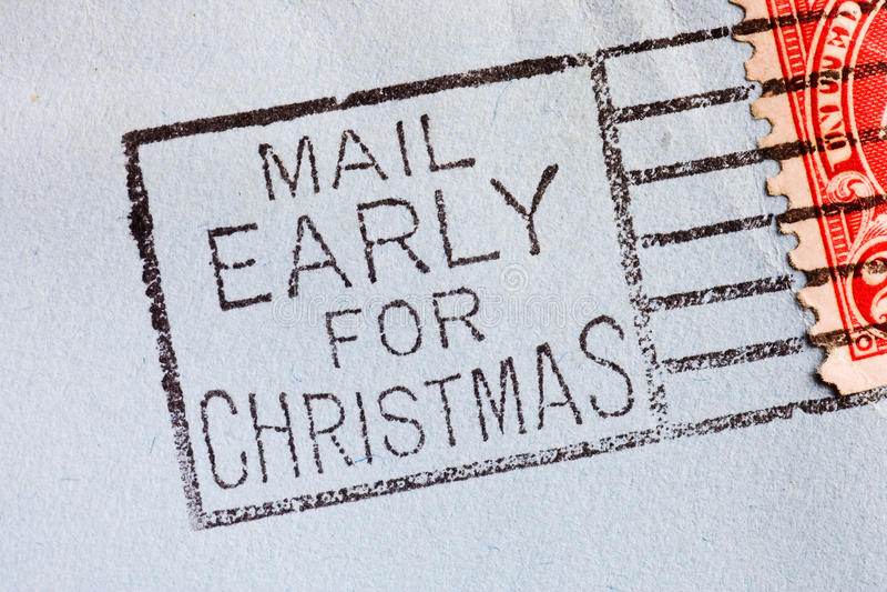 Vintage envelope. Vintage yellowed envelope with postmark stamp stock photography