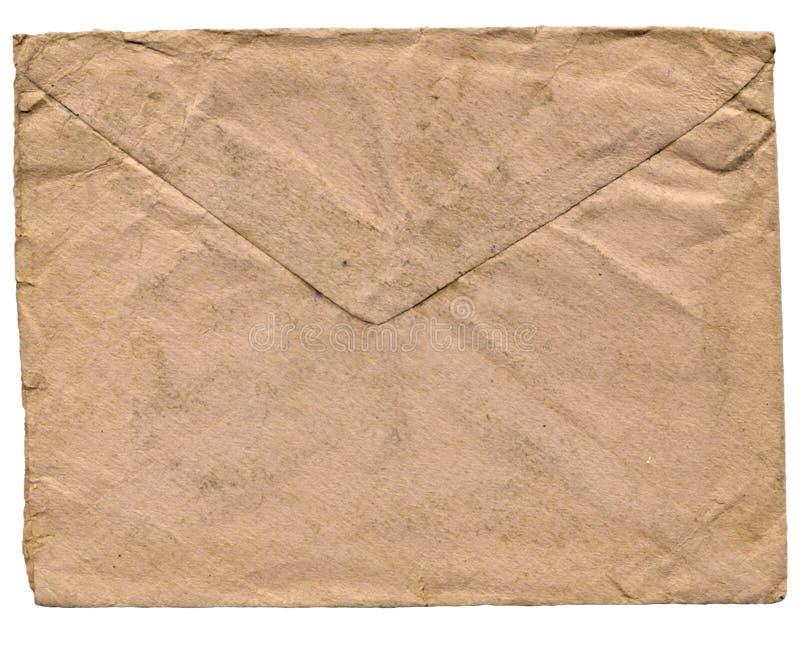 Vintage envelope for letter stock photo