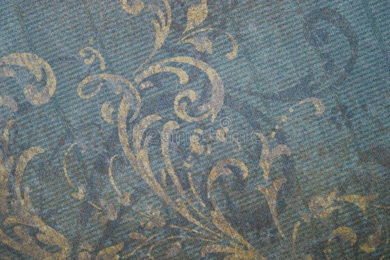 Download Vintage Faded Floral Background Stock Illustration - Illustration: 26812828