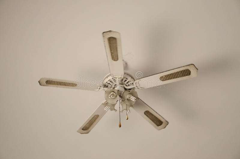 Vintage Fan stock image