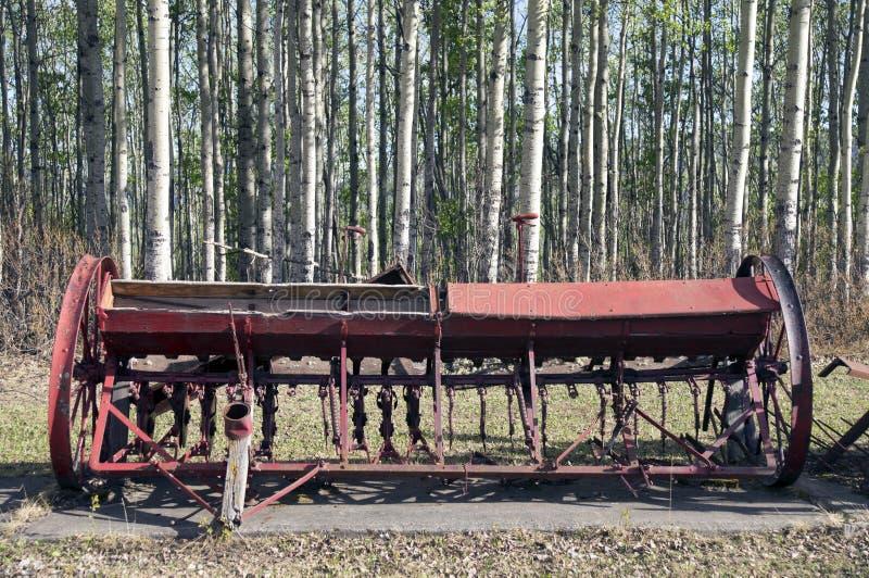 Vintage Farm Equipment royalty free stock photography