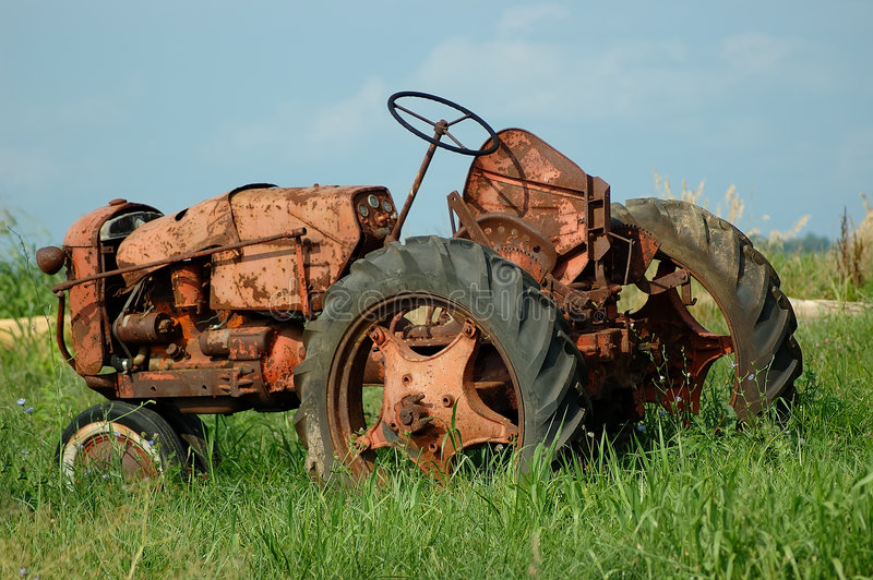 Download Vintage Farm Tractor Stock Photo - Image: 191590