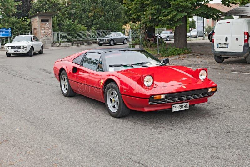 Vintage Ferrari 308 GTSi royalty free stock photography