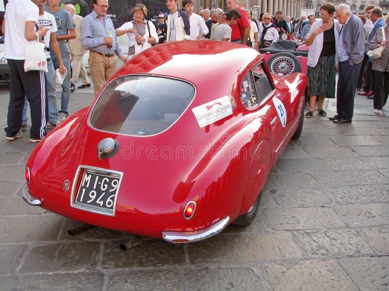 Vintage Fiat imagens de stock