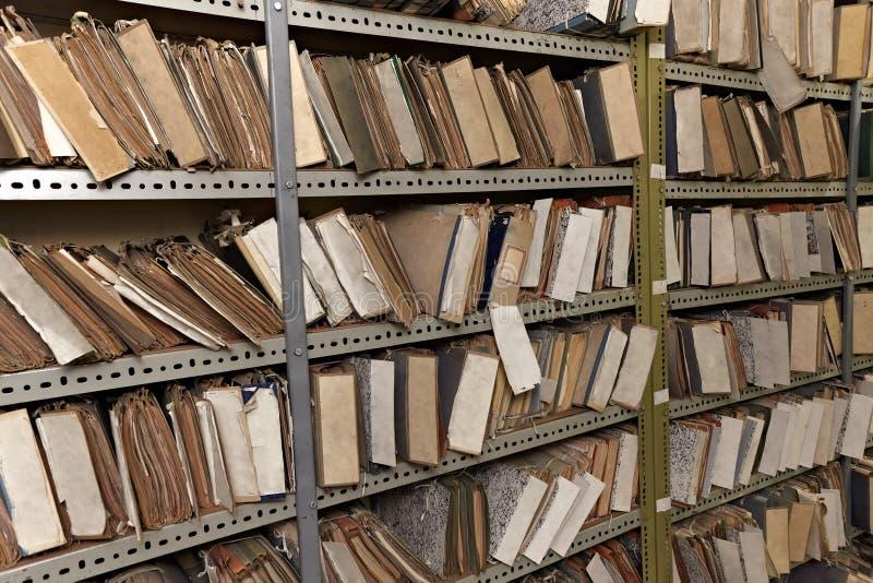Vintage file documents
