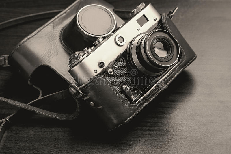 Download Vintage Film Camera stock photo. Image of ussr, additionally - 83700994
