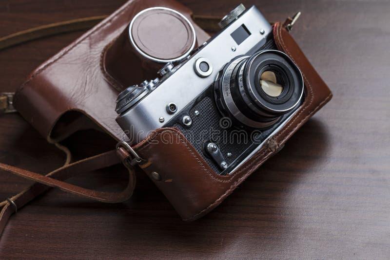 Download Vintage Film Camera Stock Photo - Image: 83701511