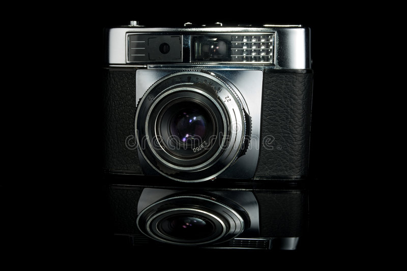 Download Vintage Film Rangefinder Camera Stock Photo - Image: 7508832