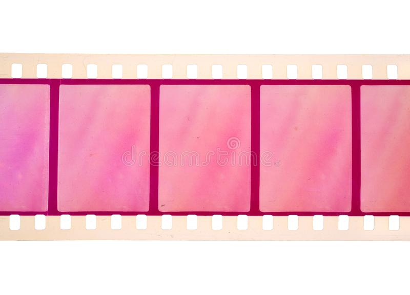 Vintage Film stock For still photography or motion picture. Isolated.  stock image