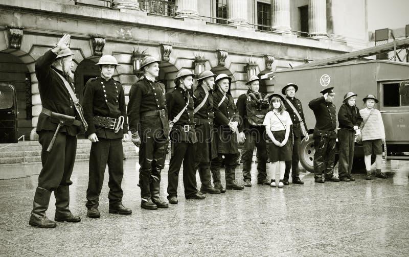 Vintage Fire Brigade Editorial Photography