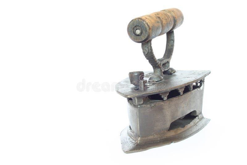 Vintage Flat Iron stock photo