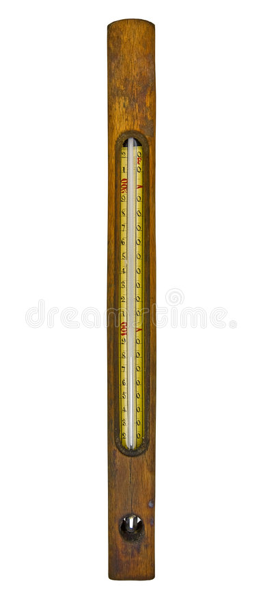 Free Vintage Floating Thermometer Royalty Free Stock Photo - 7498005