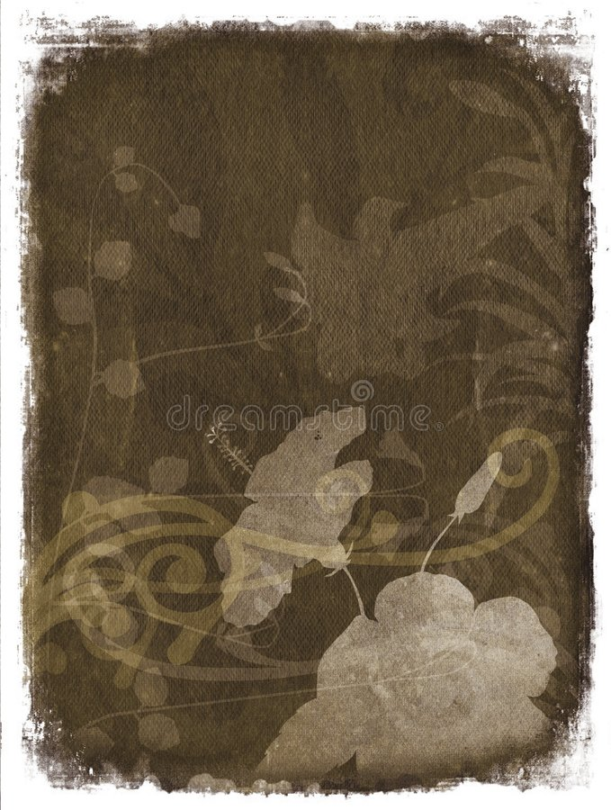 Free Vintage Floral Background Royalty Free Stock Image - 1258076
