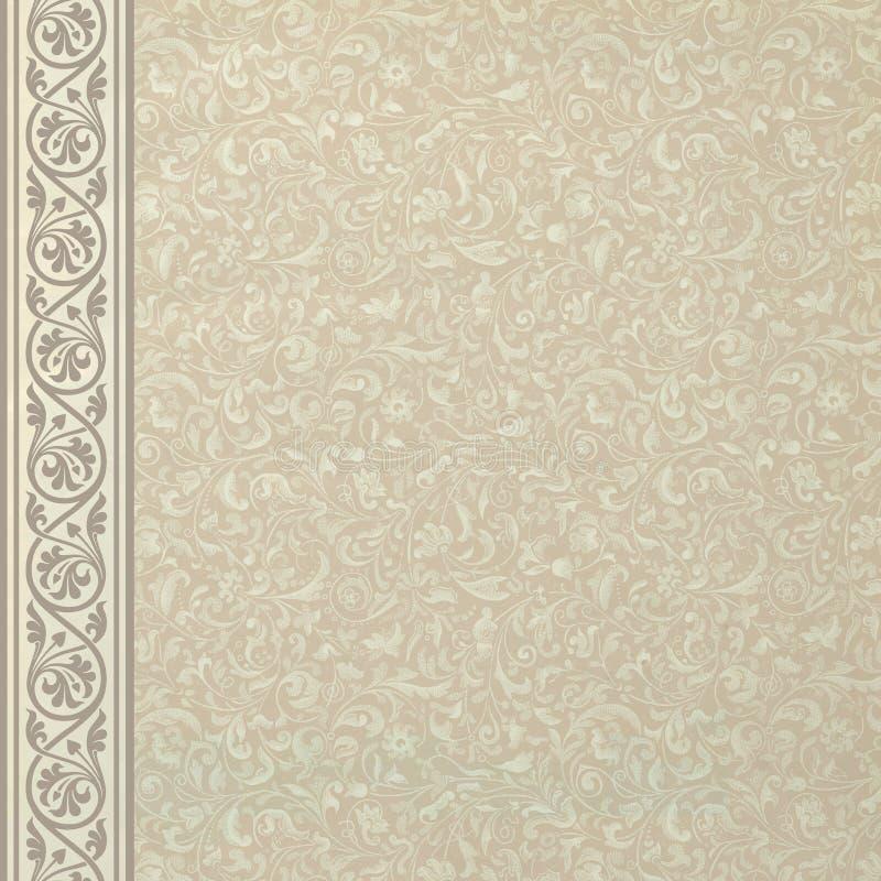 Download Vintage Floral Background stock illustration. Image of light - 25831460