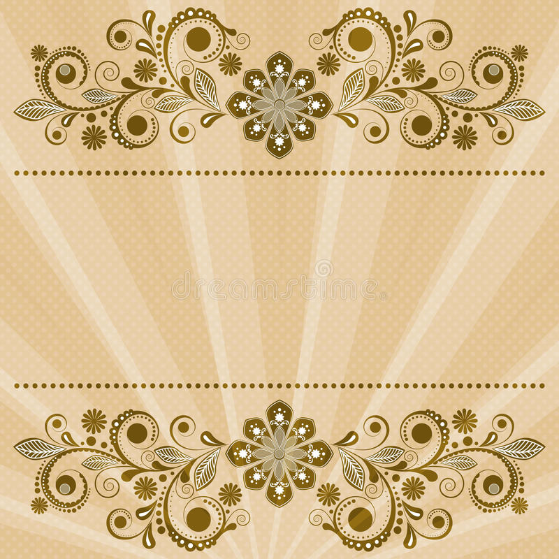 Download Vintage Floral  Background Royalty Free Stock Photos - Image: 28388538