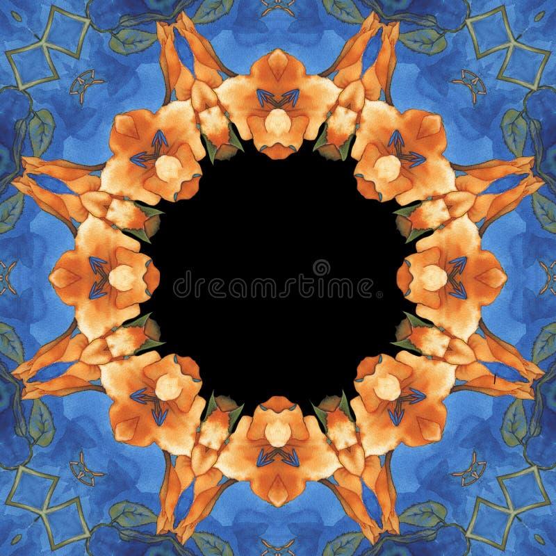 Download Vintage Floral Background And Frame Stock Illustration - Image: 14866574
