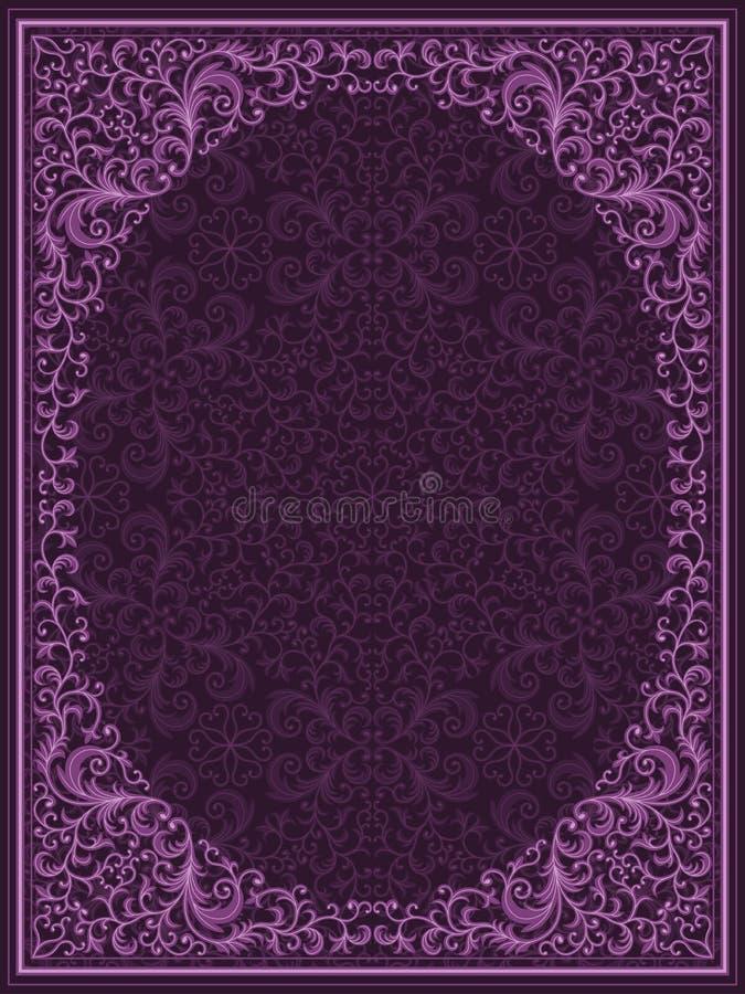 Download Vintage floral frame stock vector. Illustration of design - 18863978