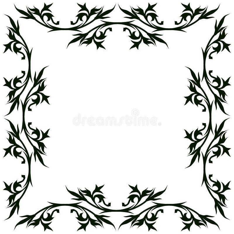 Vintage Floral Frame Free Stock Photography