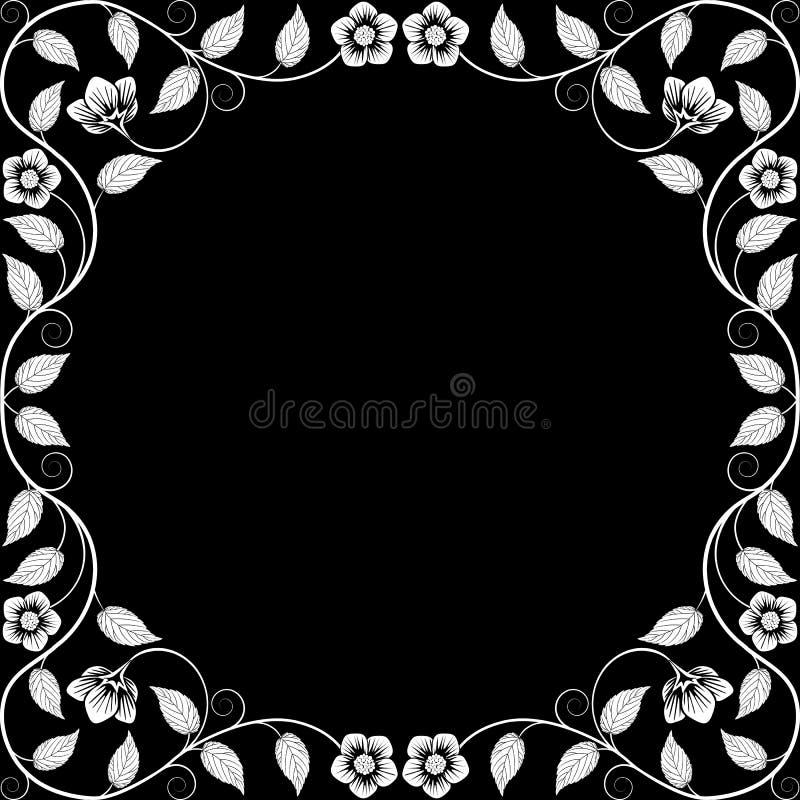 Download Vintage Floral Frame Stock Illustration - Image: 38809066