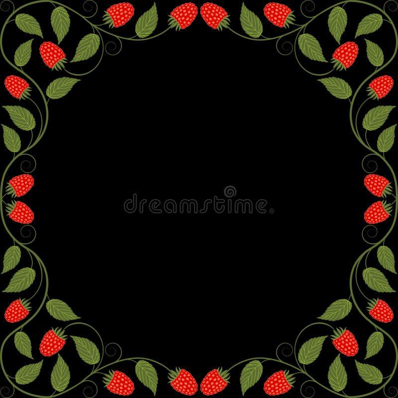 Download Vintage floral frame stock vector. Image of illustration - 40266702
