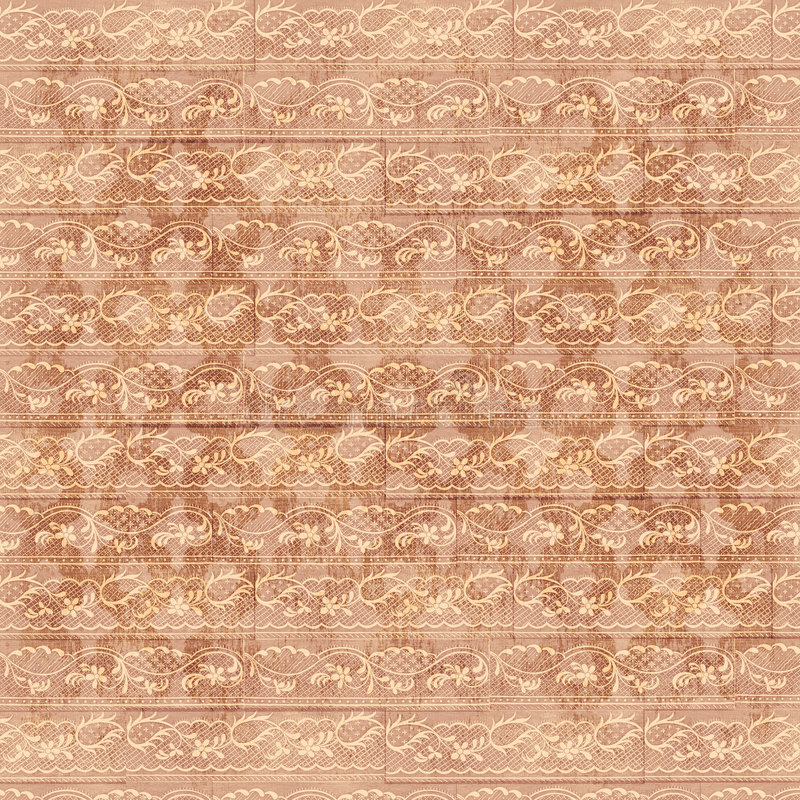Vintage Floral Grunge Paper. Artistic floral background for scrapbooking royalty free stock photography