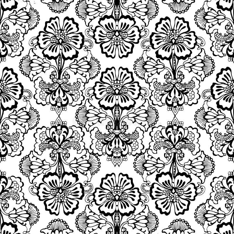 Vintage floral Scrapbook Background vector illustration