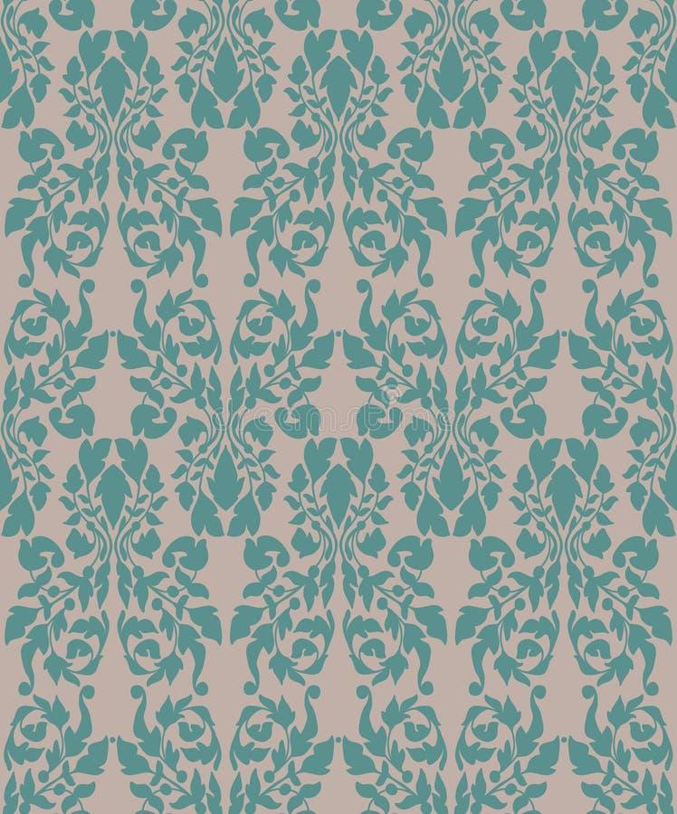Download Vintage Floral Seamless Background Stock Vector - Image: 28780664