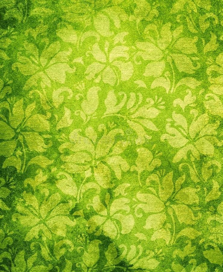Vintage floral wallpaper vector illustration