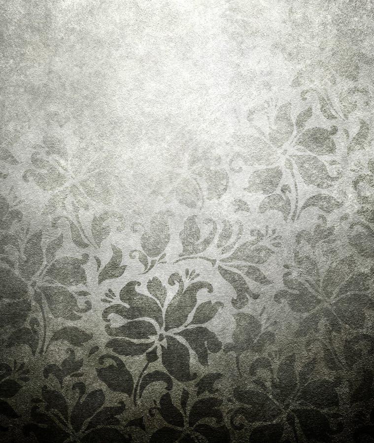 Vintage floral wallpaper. Pattern of vintage floral wallpaper