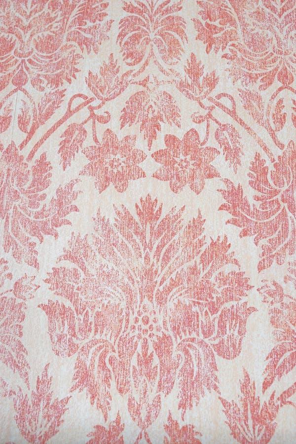Vintage floral wallpaper. Vintage floral pattern wallpaper background royalty free stock image