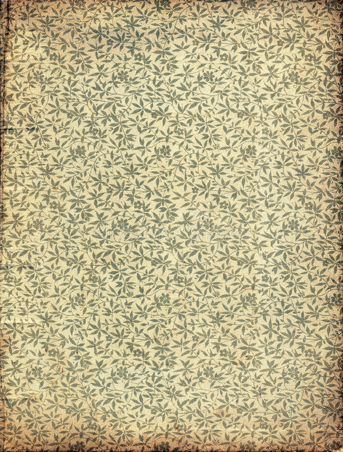 Vintage Floral Wallpaper. Or Background Texture royalty free stock images