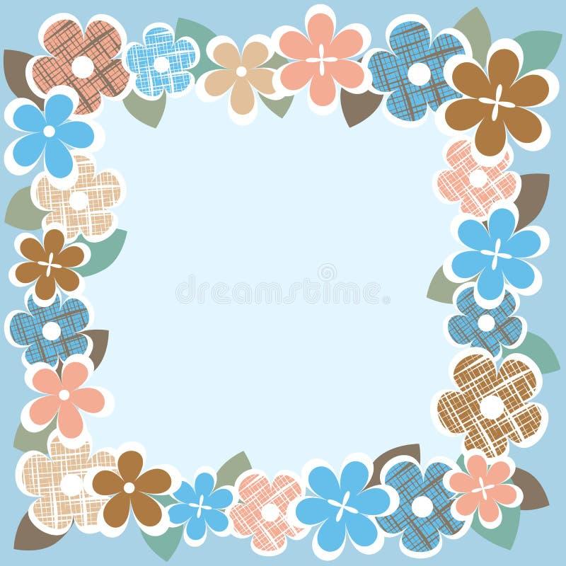 Download Vintage Flower Border Stock Vector Illustration Of Decorative