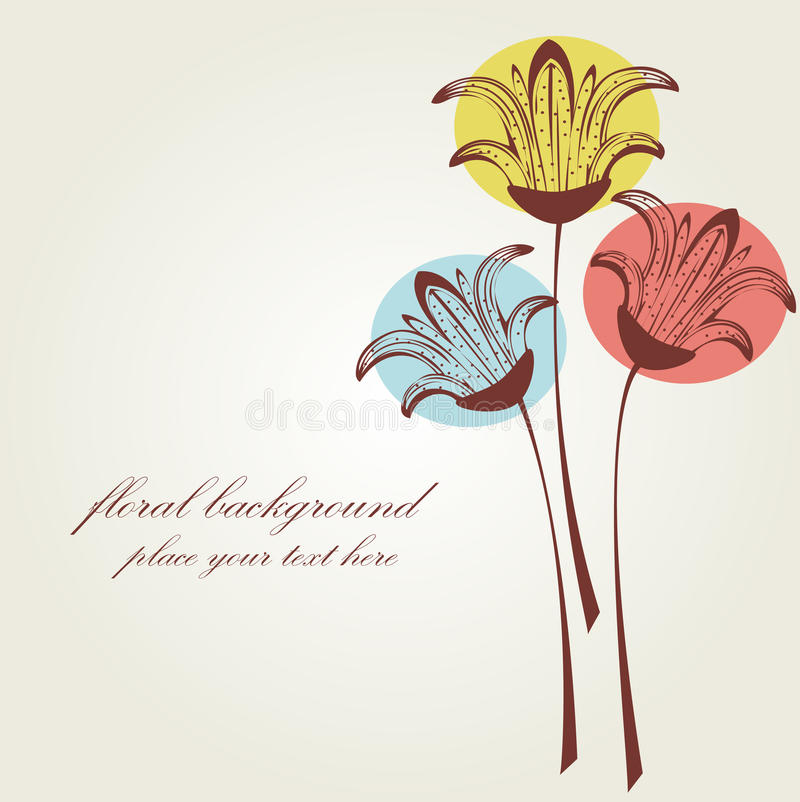 Free Vintage Flowers Royalty Free Stock Photography - 15940217