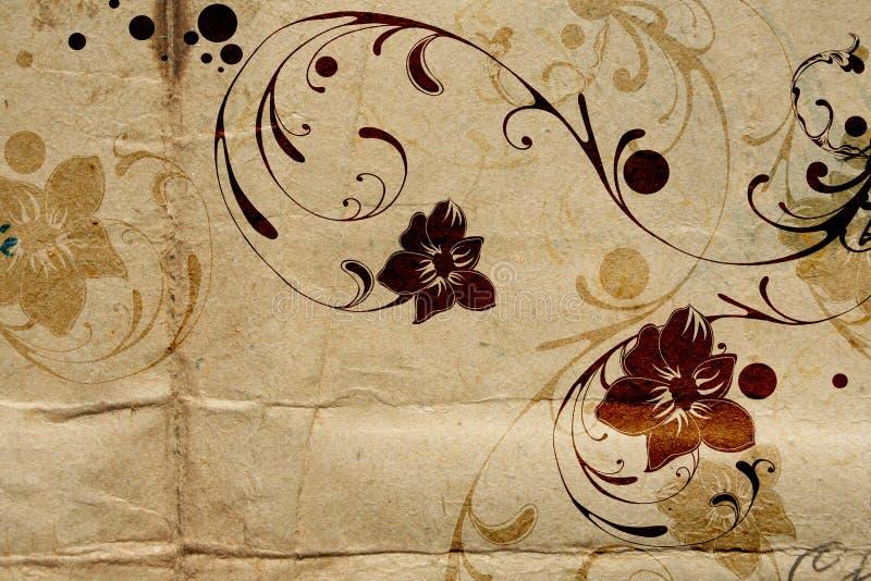 Vintage flowers stock illustration