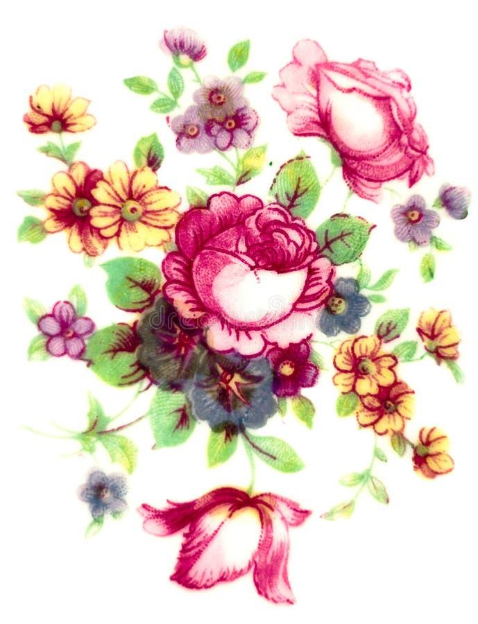 Free Vintage Flowers Pattern Stock Photos - 23060483
