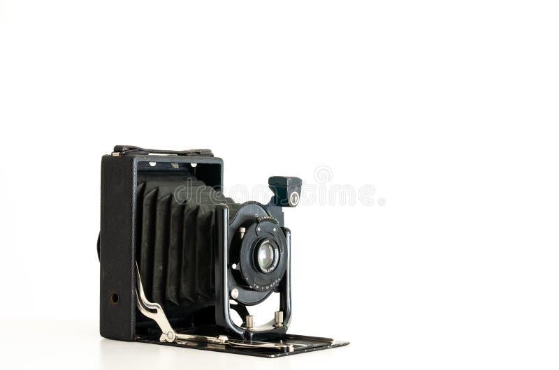 Vintage folding camera royalty free stock photography