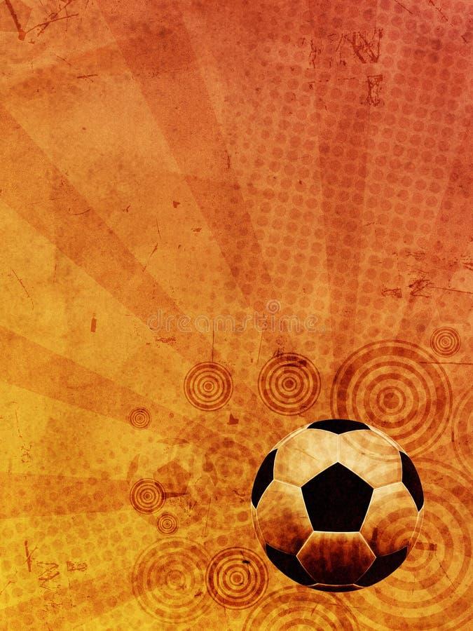 Download Vintage Football Background Stock Illustration - Illustration of light, competition: 25139877
