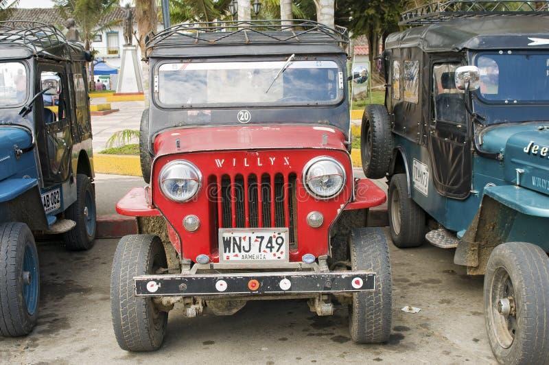 Vintage fora dos veículos de estrada imagens de stock royalty free